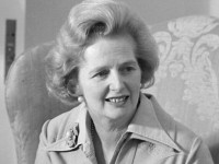 The lady's not for turning – Margaret Thatcher